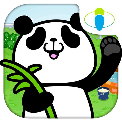 摸摸貓熊:電力滿格 LOGO-APP點子