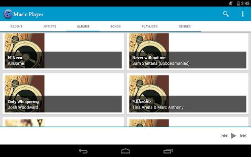Music Player - screenshot thumbnail