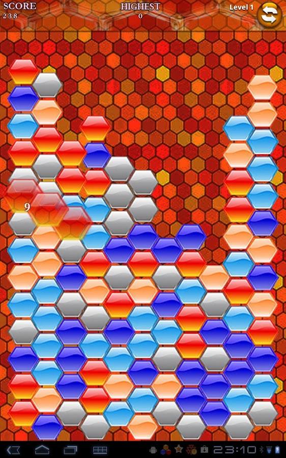 Hexa Blast- screenshot