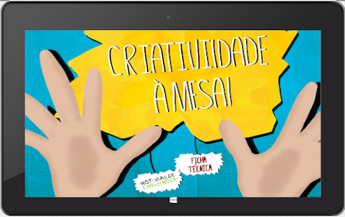 "EBOOK ""CRIATIVIDADE À MESA""- screenshot thumbnail"