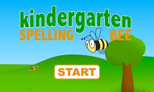 Kindergarten Spelling Bee Free - Apps on Google Play