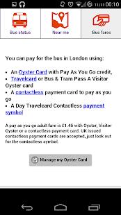 Bus Times London Screenshot