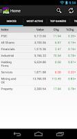 Screenshot of PAM - PSE tracker