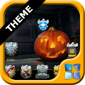 Next Launcher Halloween Theme