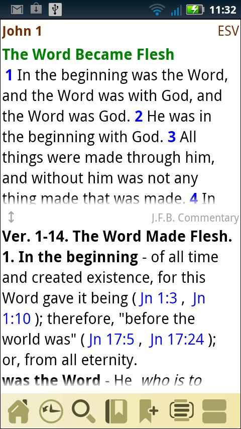 AcroBible ESV- screenshot