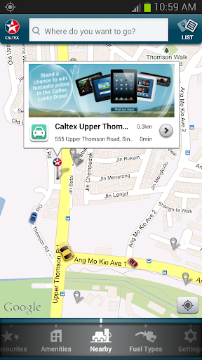 Caltex Station Locator