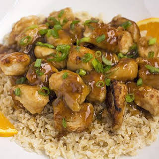 Orange Chicken.