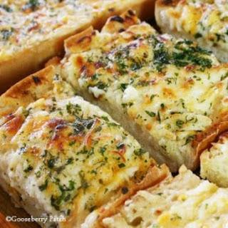 Bubbly Cheese Garlic Bread.