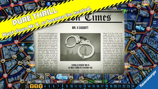 Scotland Yard- screenshot thumbnail