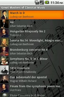 Masters of Classical Music - screenshot thumbnail