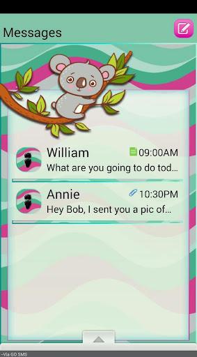 CuteKoala GO SMS THEME