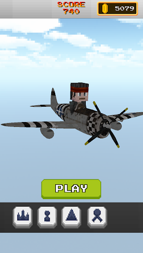Pixel Flight - Invader Plane