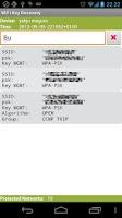 Screenshot of WiFi Key Recovery (needs root)