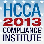 2013 HCCA Compliance Institute