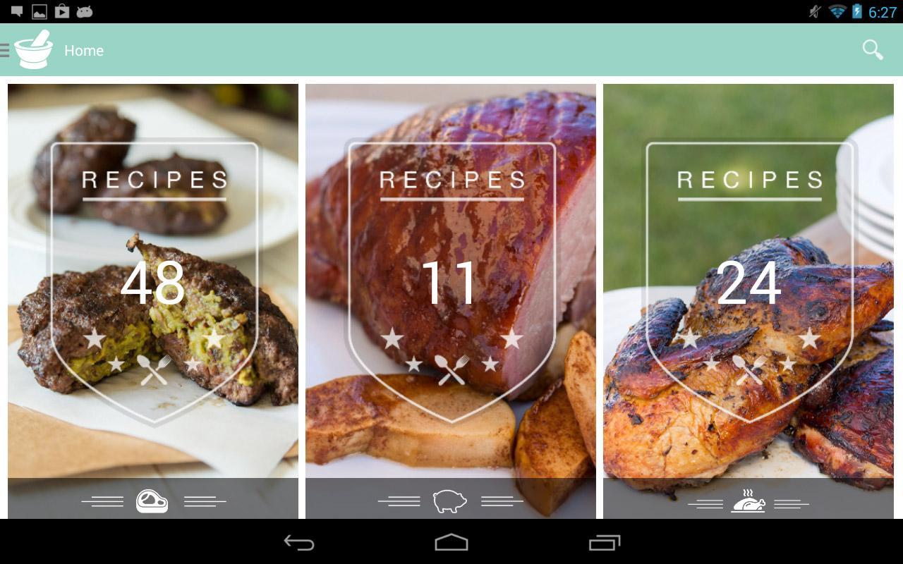 Caveman Feast - Paleo recipes - screenshot