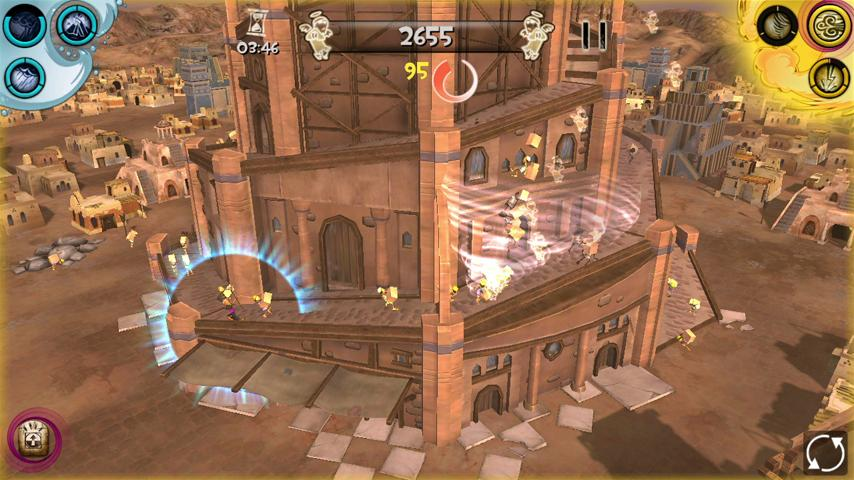 Babel Rising 3D - screenshot