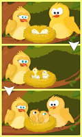 Screenshot of Hungry Birds