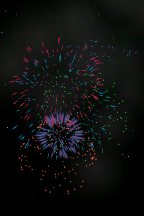 Toddler Tap: Fireworks - screenshot