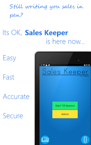 Sales Keeper Free Mobile Till screenshot 10