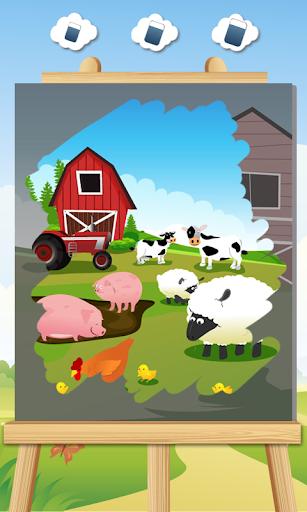子供のための農場の動物のゲーム