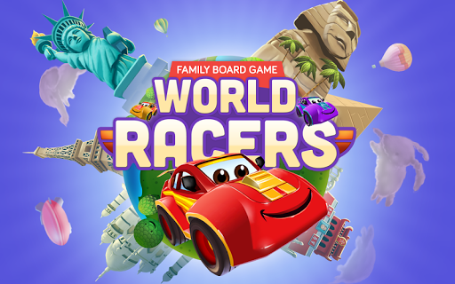 World Racers family board game