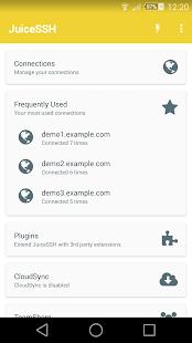 JuiceSSH - SSH Client Screenshot 1