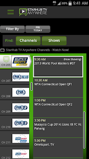 StarHub TV Anywhere- screenshot thumbnail