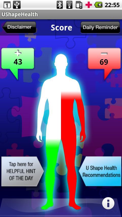 UShapeHealth - screenshot