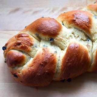 Sweet Blueberry Bread.
