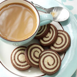 Chocolate-Nut Pinwheel Cookies