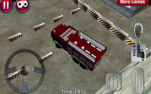 Fire Truck parking 3D - screenshot thumbnail