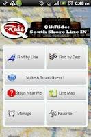 Screenshot of QikRide: South Shore IN