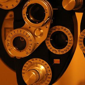 Eye Exam Machine by Leah N - Artistic Objects Healthcare Objects ( optical, eye exam machine )