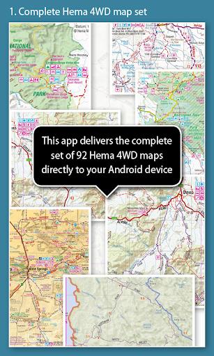 4WD Australia map-pac