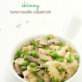 Skinny Tuna Noodle Casserole.