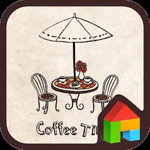 App coffee time dodol theme APK