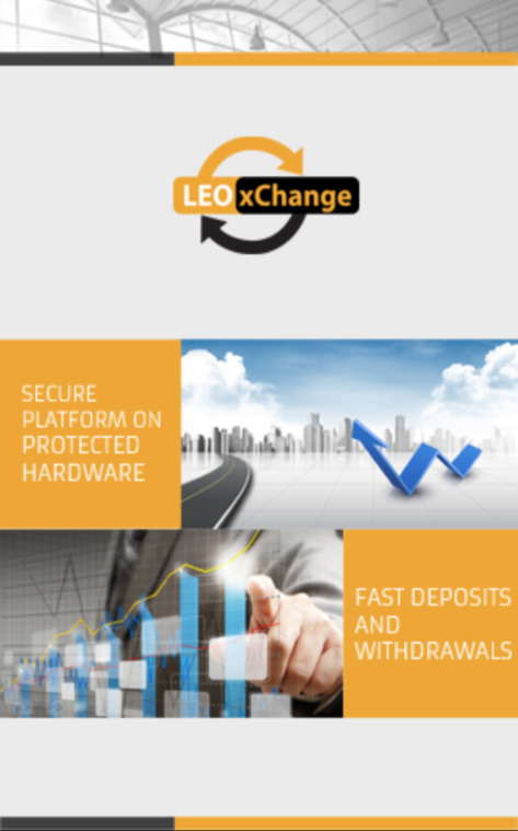 LEOxChange 2FA Key- screenshot