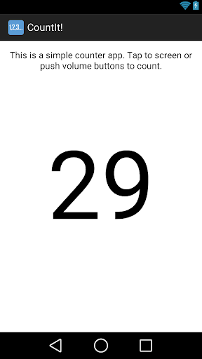 Count It - Simple Counter App