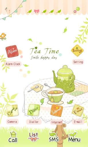 CUKI Theme Happy Tea Time