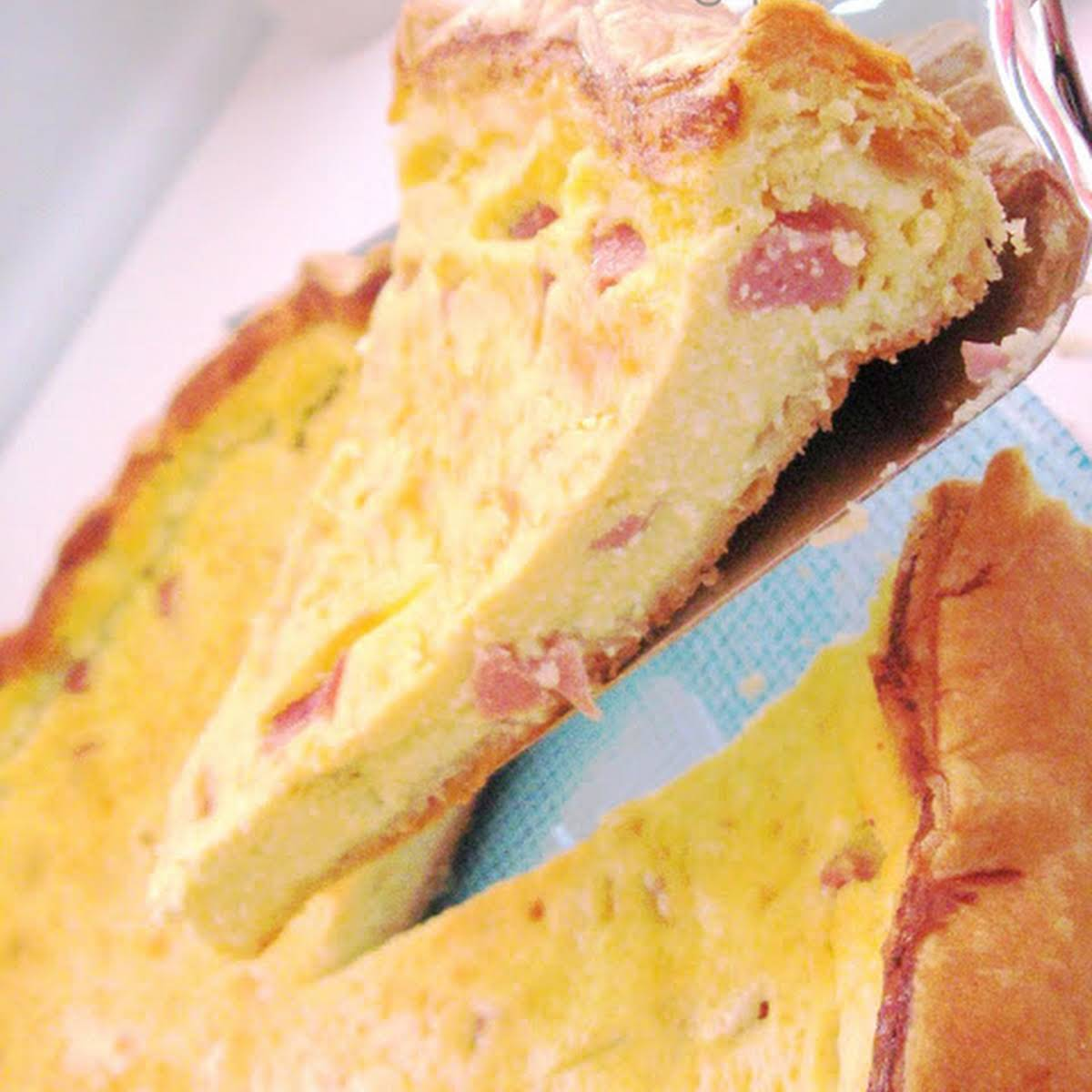 Ricotta Cheese Quiche