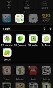 X-Until GO Launcher Theme - screenshot thumbnail