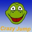 Crazy jump icon