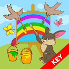 Learn Colors for kids - key icon