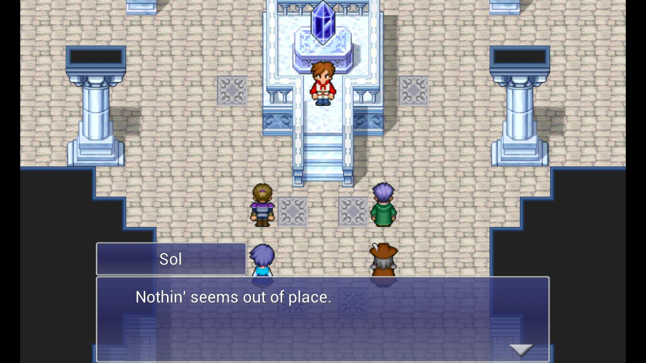 FINAL FANTASY DIMENSIONS- screenshot