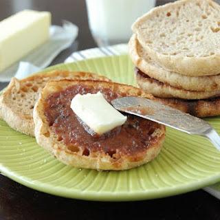 Whole Wheat Honey English Muffins
