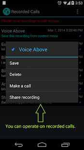 Call Recorder | Calls Recall - screenshot thumbnail