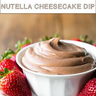 Nutella Cheesecake Dip