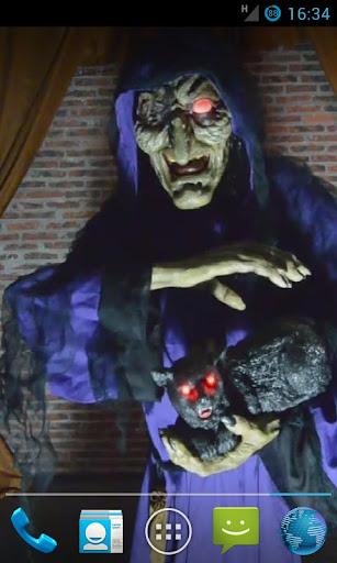 Halloween Witch LiveWallpaper2