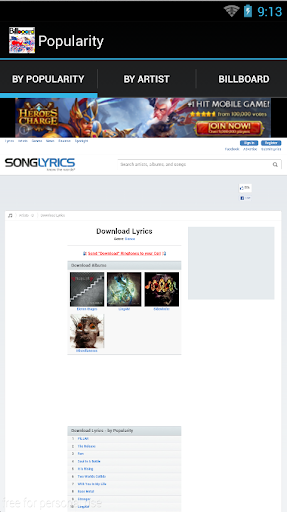 Lyrics Downloader