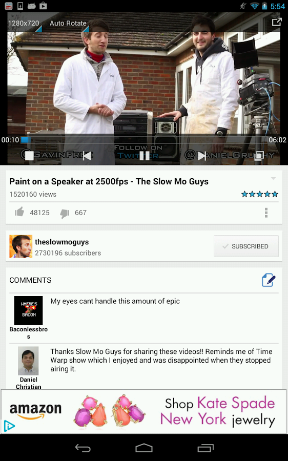SuperTube Popup YouTube Player - screenshot